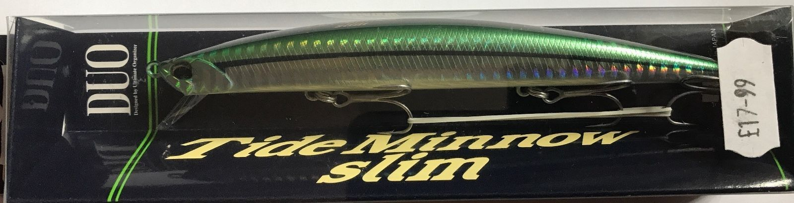 Duo Tide Minnow Slim 140 Bass Fishing Lure Floating Shallow Diving 140mm 18g