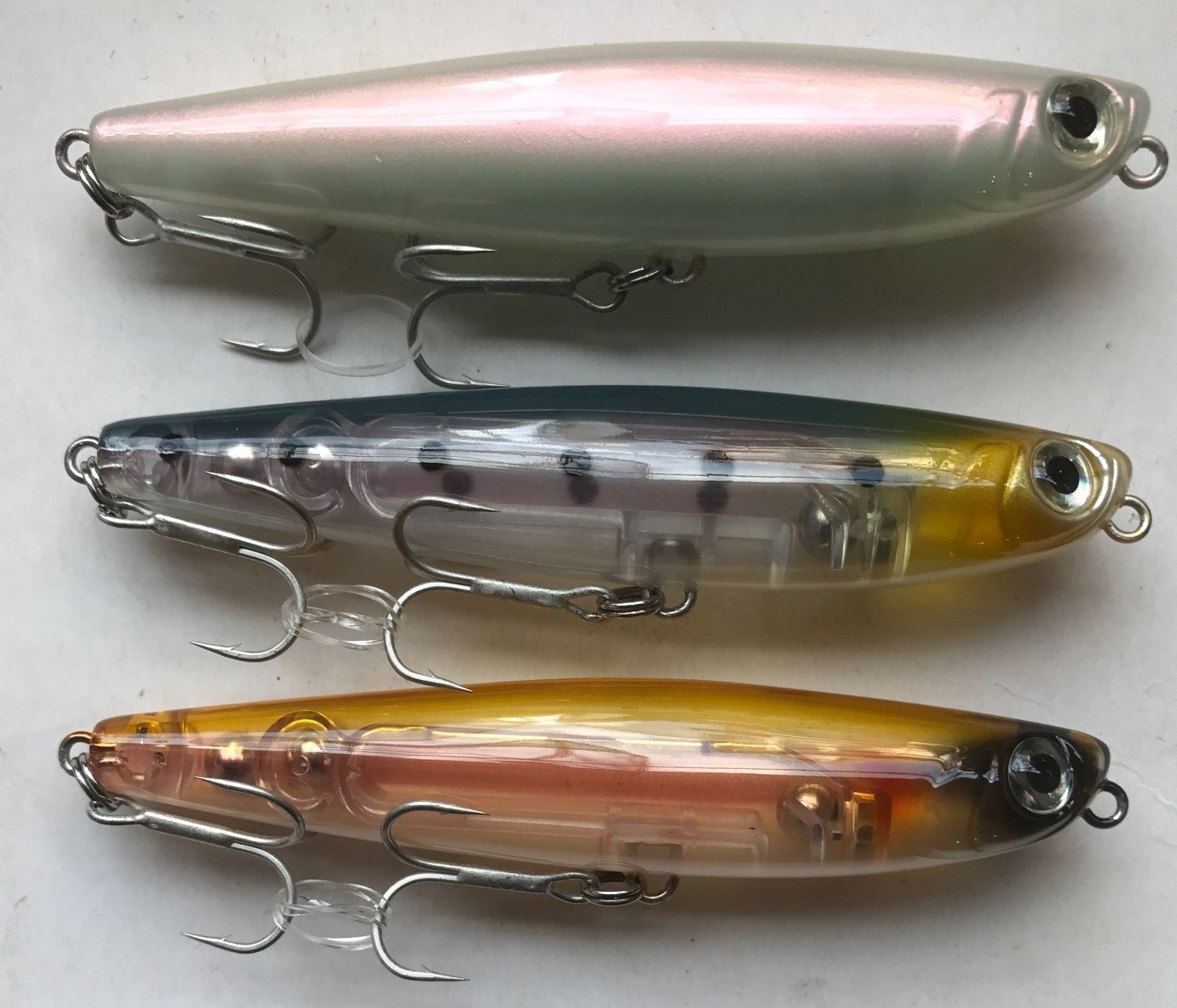 HTO Glide Bass Fishing Surface Lure Topwater Bass Lure ...